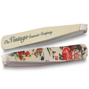 The Vintage Cosmetic Company Floral Slanted Tweezers