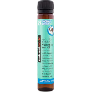 Natural World Coconut Water Hydration & Shine Weightless Hair Oil