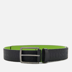 BOSS Green Men's Toga Belt - Black