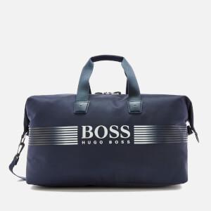 BOSS Green Men's Pixel Holdall - Bright Blue