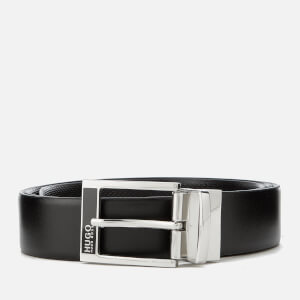 HUGO Men's Gilb Belt Box Set - Black