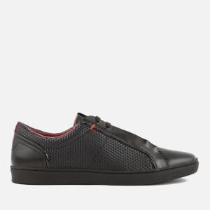 HUGO Men's Post Futurism Tennis Trainers - Black