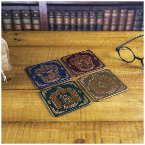 Harry Potter Crest Coasters