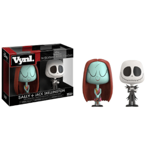 Disney Sally and Jack Skellington Vynl.