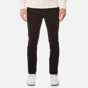 Nudie Jeans Men's Lean Dean Tapered Jeans - Dry Ever Black