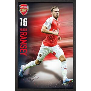 Arsenal Ramsey 15/16 - 61 x 91.5cm Framed Maxi Poster