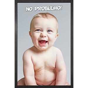 Baby No Problemo - 61 x 91.5cm Framed Maxi Poster
