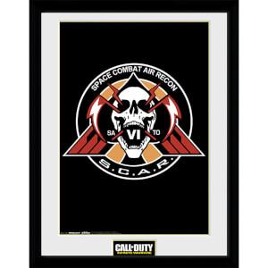 Call of Duty: Infinite Warfare Scar Logo - 16 x 12 Inches Framed Photograph