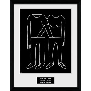 Catfish and the Bottlemen Balcony - 16 x 12 Inches Framed Photograph