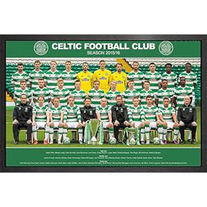 Celtic Team Photo 15/16 - 61 x 91.5cm Framed Maxi Poster