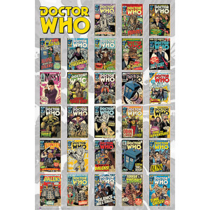 Doctor Who Comics Compilation - 61 x 91.5cm Maxi Poster