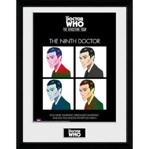 Doctor Who Spacetime Tour 9th Doctor - 16 x 12 Inches Framed Photograph