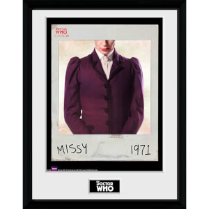Doctor Who Spacetime Tour Missy - 16 x 12 Inches Framed Photograph