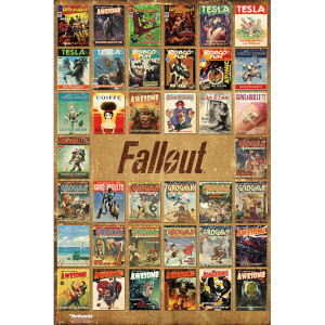 Fallout 4 Magazine Compilation - 61 x 91.5cm Maxi Poster