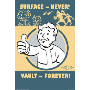Fallout 4 Vault Forever - 61 x 91.5cm Maxi Poster
