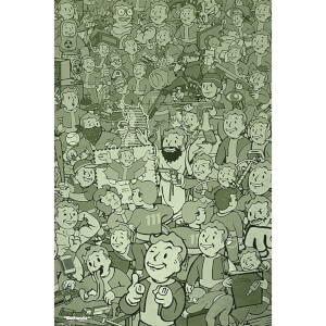 Fallout Compilation - 61 x 91.5cm Maxi Poster