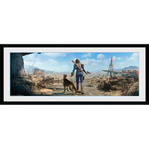 Fallout Sole Survivor Female - 30 x 12 Inches Framed Photograph