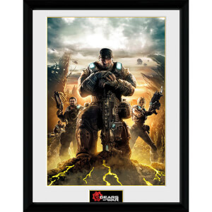 Gears of War 4 Gears 3 - 16 x 12 Inches Framed Photograph