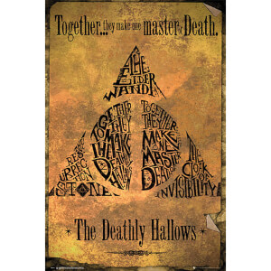 Harry Potter Deathly Hallows - 61 x 91.5cm Maxi Poster