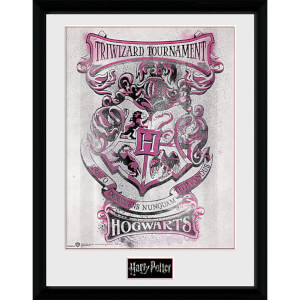 Harry Potter Triwizard Hogwarts - 16 x 12 Inches Framed Photograph