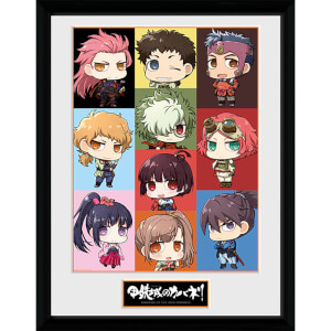 Kabaneri of the Iron Fortress Chibi - 16 x 12 Inches Framed Photograph