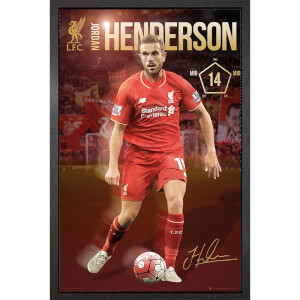Liverpool Henderson 15/16 - 61 x 91.5cm Framed Maxi Poster