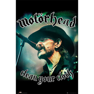 Motorhead Clean Your Clock - 61 x 91.5cm Maxi Poster