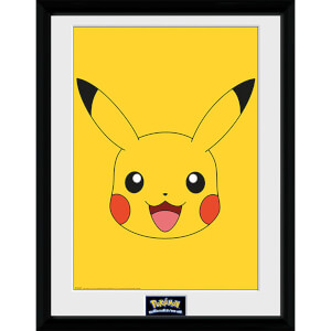 Pokémon Pikachu 2 - 16 x 12 Inches Framed Photograph