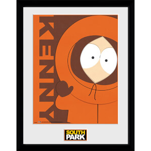 South Park Kenny - 16 x 12 Inches Framed Photograph
