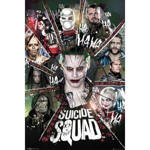 Suicide Squad Circle - 61 x 91.5cm Maxi Poster