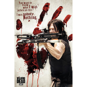The Walking Dead Bloody Hand Daryl - 61 x 91.5cm Maxi Poster