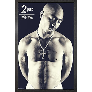 Tupac Cross - 61 x 91.5cm Framed Maxi Poster