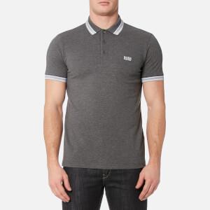 BOSS Green Men's Paddy Polo Shirt - Charcoal