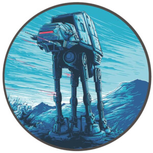 Badge Rond en Émail Attack Pattern Delta - Exclusivité pour Zavvi Star Wars Dan Mumford (4cm de Diamètre)