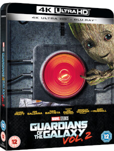 Guardians of the Galaxy Vol.2 - 4K Ultra HD (Including 2D Blu-ray) - Zavvi UK Exclusive Limited Edition Steelbook