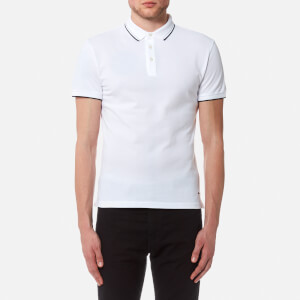 BOSS Orange Men's Payout Polo Shirt - White