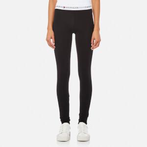 Tommy Hilfiger Women's Jersey Leggings - Black
