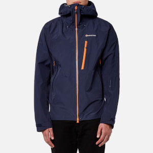 Montane Men's Alpine Pro Gore-Tex Jacket - Antarctic Blue/Burnt Orange