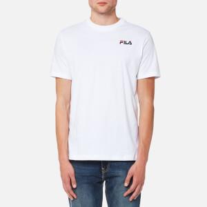 FILA Blackline Men's Lucas Basic Graphic T-Shirt - White