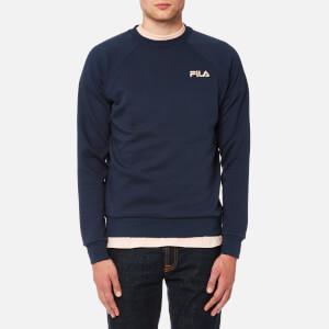 FILA Blackline Men's Ethan Crew Neck Sweatshirt - Peacoat