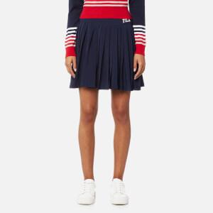 FILA Blackline Women's Lauryn Asymmetric Tennis Skirt - Peacoat
