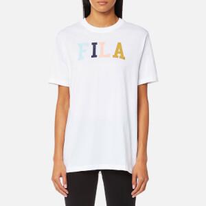 FILA Blackline Women's Taylor Essential Logo T-Shirt - White