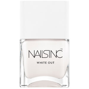nails inc. White Out Nail Varnish 14ml