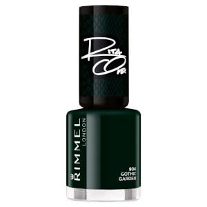 Rimmel 60 Seconds Rita Shades of Black Nail Polish - Black Green 904 8ml