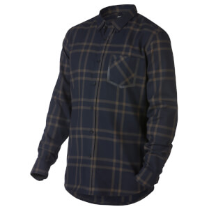 Oakley Men's Inferno Woven Long Sleeved Top - Navy