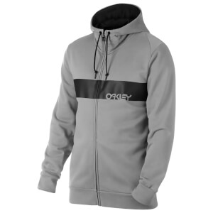 Oakley Men's Crossbar Mark II Full Zip Hoody - Grey