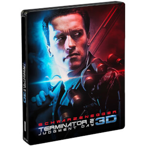 Terminator 2: Tag der Abrechnung 3D (Inklusive 2D Version) - Zavvi UK Exklusives Limited Edition Steelbook