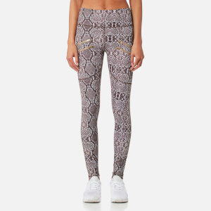 Varley Women's Palms Tight Leggings - Taupe Snake