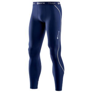 Skins Men's DNAmic Thermal Long Tights - Blue