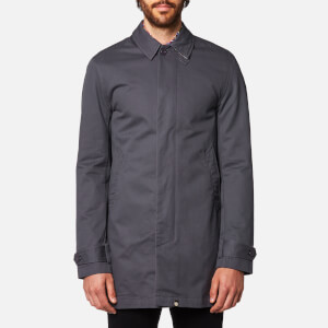 Pretty Green Men's Glendon Mac - Grey